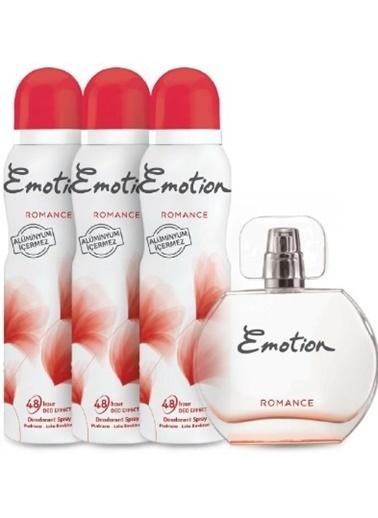 Emotion Emotion Romance Edt Parfüm 50 Ml + Deodorant 3 X 150 Ml Renksiz